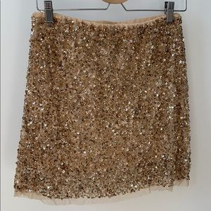 Sparkle girl, sparkle! This mini skirt!! NWT